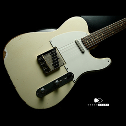 "TMG Guitars Gatton Blonde ""Heavy Checking"" Like Robben"