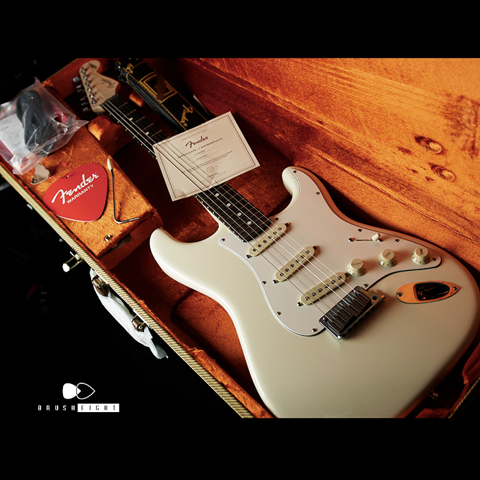 "Fender USA Jeff Beck Stratocaster ""Olympic White"" 2018's"