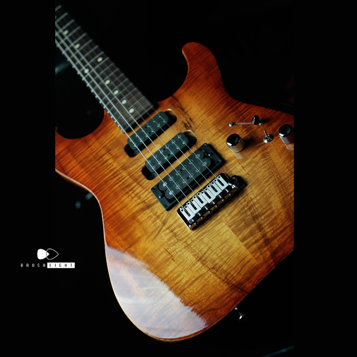 TomAnderson Droptop Hollow  KoaTop & Rosewood Neck