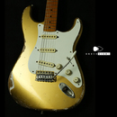 "【SOLD】TMG Guitars DOVER ""Aztec Gold"" Coming Soon!!!"