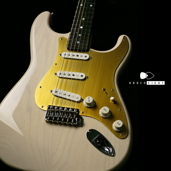 "【SOLD】Black Cloud Guitar Custom Sigma 3S ""White Blonde"" Shop No:816  ""Birdseye Maple Neck & Ziricote"
