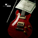 【SOLD】Gibson Custom Shop Tak Matsumoto DC Cherry Red  1P Flame Top #036
