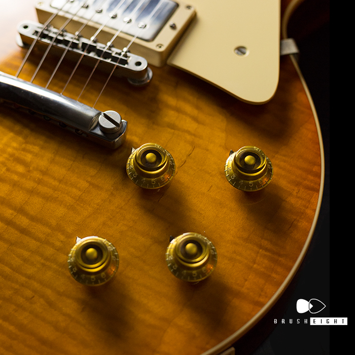 "【SOLD】Gibson Custom Shop Historic Select 1958 LesPaul Standard ""Hand Selected"" NewOrange Sunset Fade"