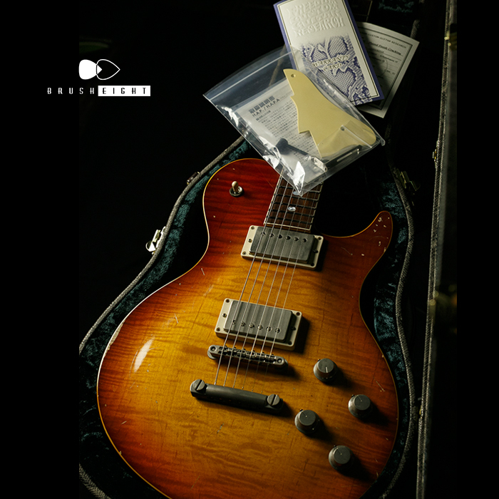 "【SOLD】Freedom Custom Guitar Research RRC-02 Played Finish Cracking ""Honduran Mahogany"" & ""Brazilian"""