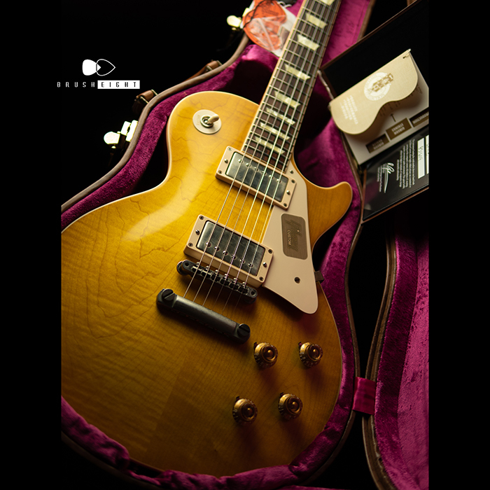 "Gibson Custom Shop Historic Select 1958 Les Paul Standard Reissue  VOS ""Lemon Burst"" 2013's"