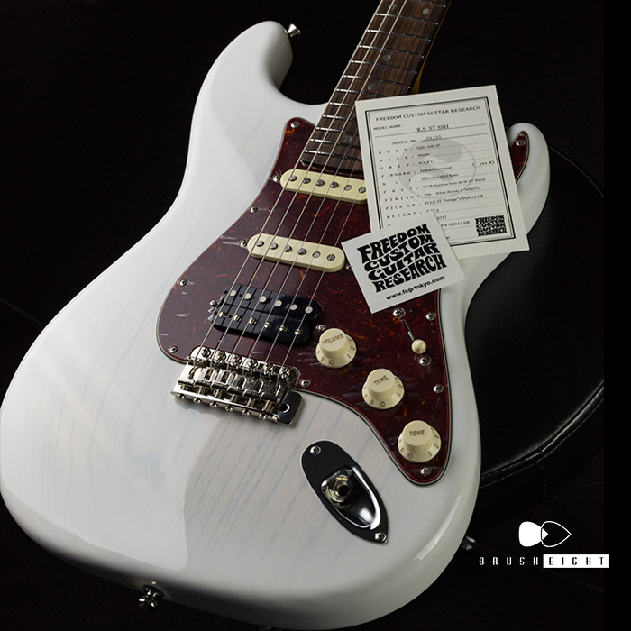 "【SOLD】 FREEDOM CUSTOM GUITAR R.S.ST  Ash & Rose ""WhiteBlonde2"""