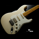 "【HOLD】TMG Guitar Co. Dover SSH ""Blonde"" Light Aging Flame Maple 1piece"