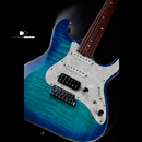 "【SOLD】dragonfly HI STA CUSTOM ""Bora Bora Blue Burst"""